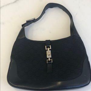 Gucci Black Hobo Bag